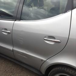 A Class Mercedes. Damage to N/S Rear Door.