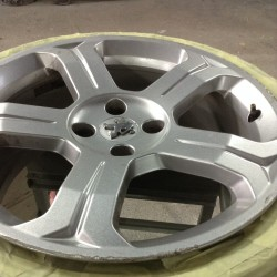 Alloy wheel refurbishment - steps 2 & 3