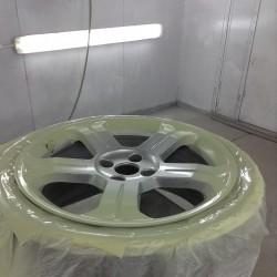 Alloy wheel refurbishment - step 6