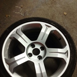Alloy wheel refurbishment - step 7