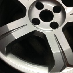 Alloy wheel refurbishment - step 8