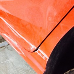 VW Polo with Damage to N/S Door & 1/4 Panel