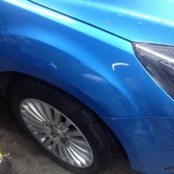 Paintless Dent Removal - After - Focus