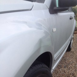 Paintless Dent Removal - Before - One